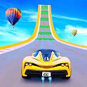 Ramp car stunts Races: Mega Ramp Video Game Free icon