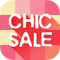 Chic Sale-fashion outlets icon