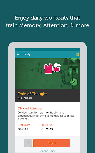 Lumosity – Brain Training v2.0.10890 [Lifetime Subscription]