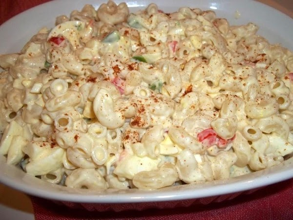 If using for macaroni salad, add ground mustard and other seasonings if you prefer....