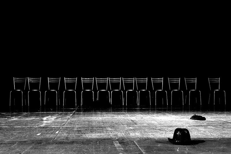 la fine dello spettacolo  di Black