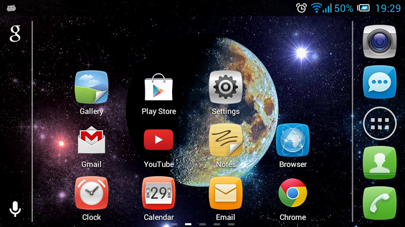 Скриншот Moon in Color Live Wallpaper