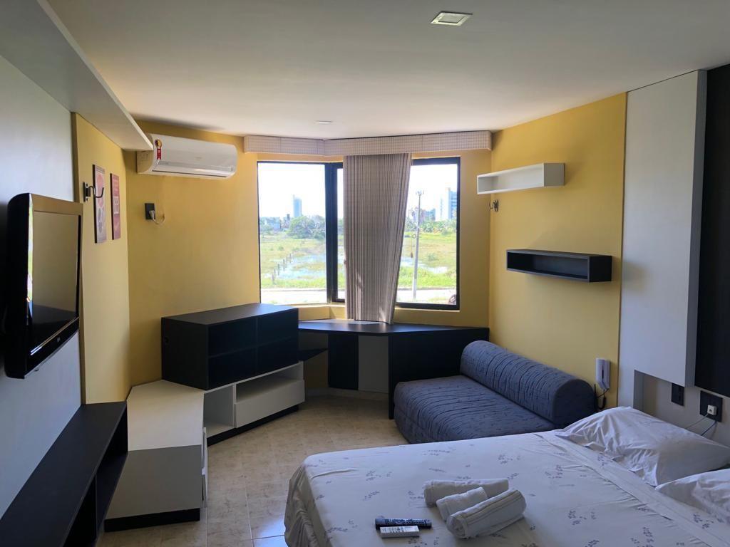 Flat com 1 dormitório à venda, 30 m² por R$ 110.000,00 - Intermares - Cabedelo/PB