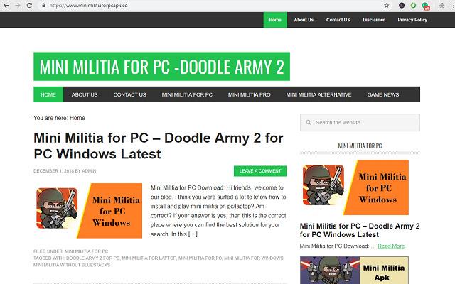 Mini Militia PC Unlimited Tips & Tricks