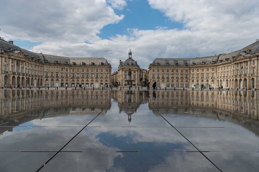 Ponant-France-Bordeaux-Place.jpg - Cruise to Bordeaux, France, and visit Place de la Bourse.