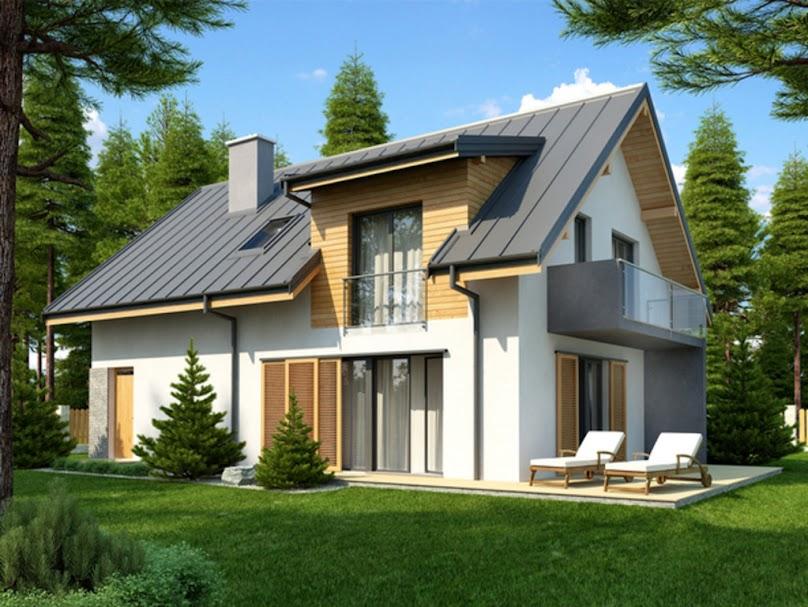 Projekt domu Aosta II