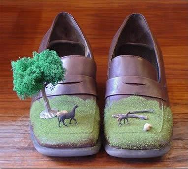 Παπούτσια καμουφλάζ