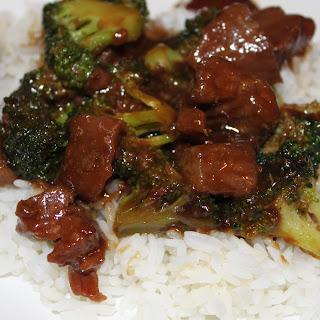Restaurant Style Broccoli Beef