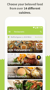 Mjam.at - Order food online - náhled