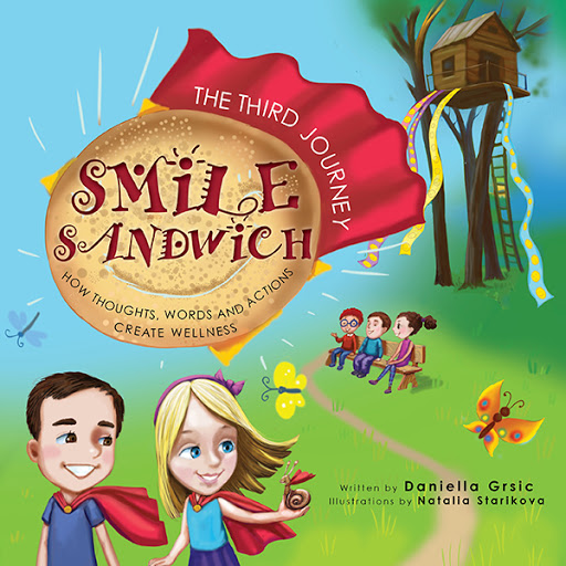 Smile Sandwich cover