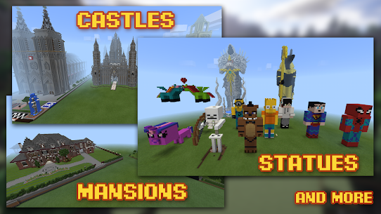 Buildings for Minecraft 7.1 Mod + Data for Android 2