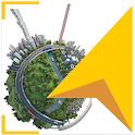 3D Earth Maps satellite icon