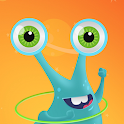 Planet Kids App read-along books, music and videos icon