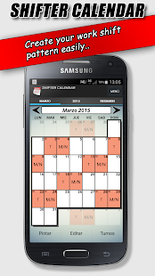 Work Shift Calendar- screenshot thumbnail