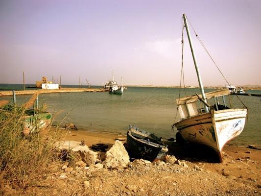 Le vecchie barche di PUSEA