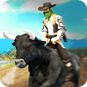 Angry Bull Attack – Cowboy Racing