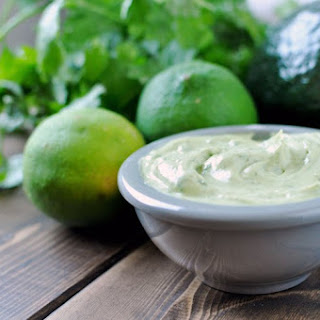 Avocado Cilantro Lime Mayonnaise [Recipe].