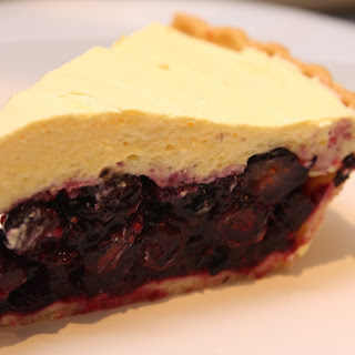Cool and Creamy Blueberry Pie.