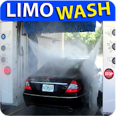 New Limousine Car Wash Service Station 2018 3D
