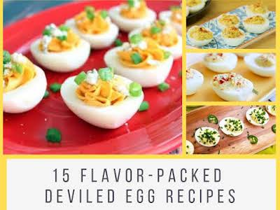 15 Flavor-Packed Deviled Egg Recipes