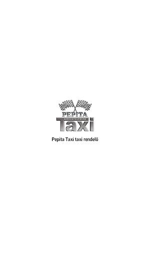 Pepita Taxi Rendelő applikáció