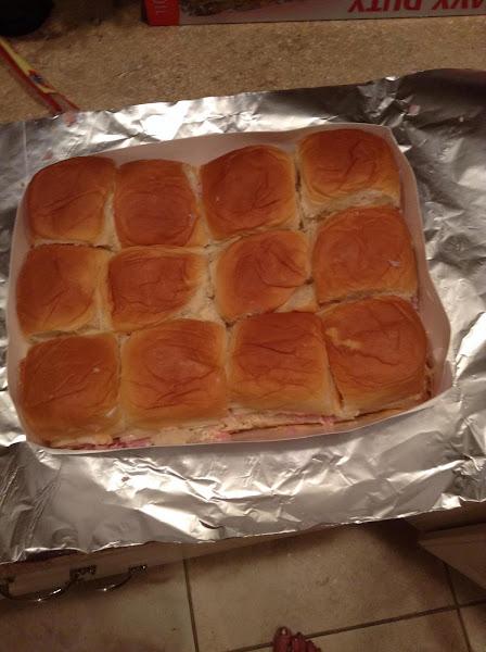 Tailgate Party Ham Sandwiches Recipe