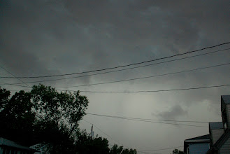 Photo: Day 112 ... A storm brewing in Little Falls