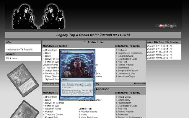 Morphling MTG Card Images