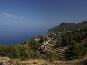 Photo: View across the coastline