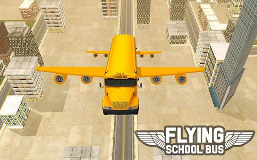 Flying School Bus Sim 2017 1.0.3 screenshots 10
