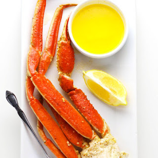 Easy Baked Snow Crab.