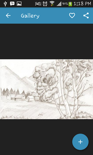 Drawing Scenery Landscapes screenshots 2