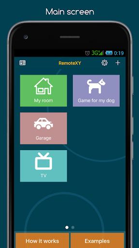 RemoteXY: Arduino control screenshot 1