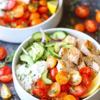Greek Chicken Meal Prep Bowls.