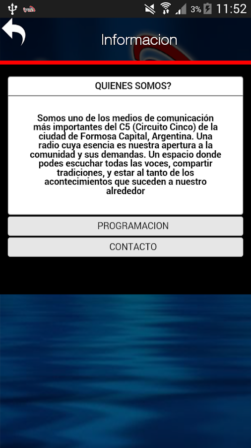 Radio La Voz Formosa- screenshot
