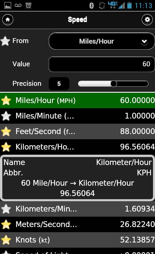 Скриншот AnyUnit - Unit Converter