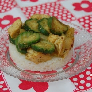 Madame Zucchini and Mister Chicken Curry