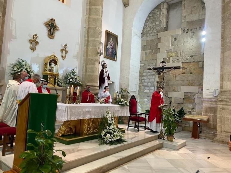 Un momento de la eucaristía en la que tomó posesión Ramón Carlos Rodríguez.