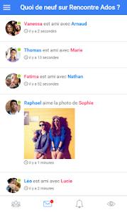 Rencontre Ados screenshot 0
