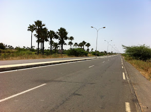 Photo: Road to Thies, Senegal