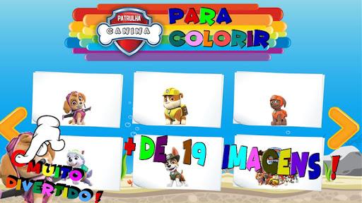 Pintar Patrulha Canina 1.0.0.6 screenshots 4