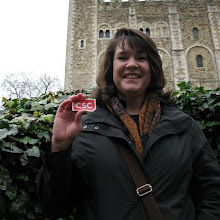 Photo: Where in the World is CSC in 2013? Here, Jan L., based out of Falls Church, VA, rings in the new year in front of the Tower of London!