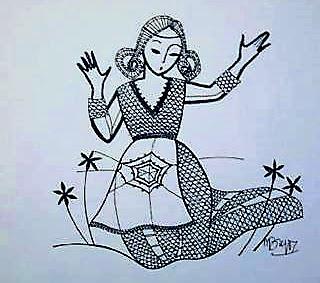 La légende de Séréna ou de l'origine de la dentelle aux fuseaux