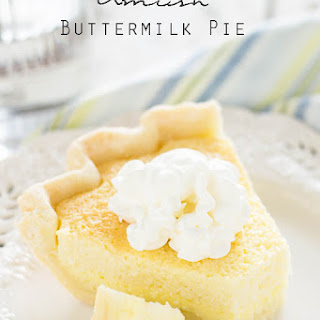 Amish Buttermilk Pie