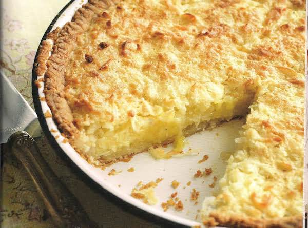 Coconut Pie From North Carolina Recipe