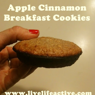 Apple Cinnamon Breakfast Cookie.