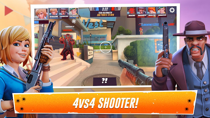Heroes of Warland - Online Shooter Android App Screenshot