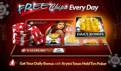 Krytoi Texas Holdem Poker. 11.0.1 Mod screenshots 1