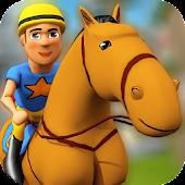 Kreskówka Jeździectwo