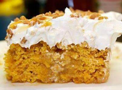 Pumpkin Better Than Sex Cake Recipe